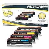 4er Pack Patronenbob® XL Toner kompatibel zu HP LaserJet pro MFP M277dw CF400-X / 201X - LaserJet Pro M252 M274, CF400X, CF401X, CF402X, CF403X