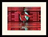 1art1 107210 2001: Odyssee Im Weltraum - Logic Memory Center Gerahmtes Poster Für Fans und Sammler 40 x 30 cm