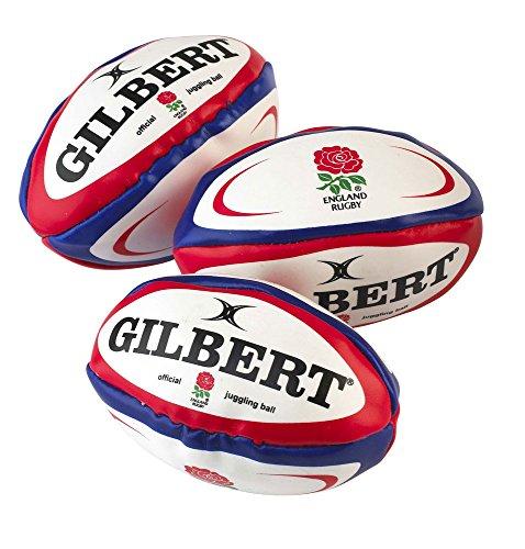 Preisvergleich Produktbild GILBERT England Rugby Jonglierbälle