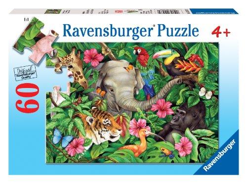 Preisvergleich Produktbild Tropical Friends 60 PC Puzzle