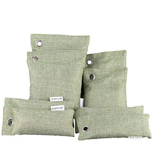 Lufterfrischer Bambuskohle, Luftreinigungs Beutel Set 8 Stücke Bambus Aktivkohle Wiederverwendbare...