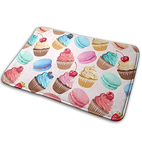d Cakes Home Fashions Bathroom Doormats Lovely Kitchen Mat 19.7 x 31.5 In ()