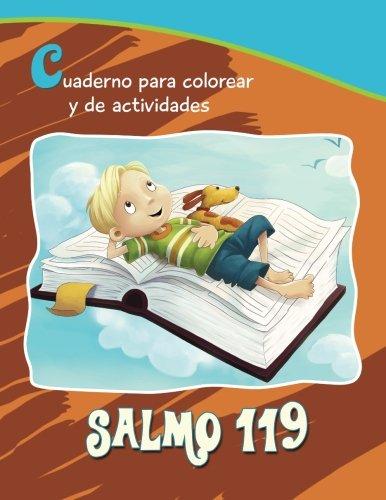 Salmo 119 - Cuaderno para colorear y de actividades: 14 versículos clave para niños