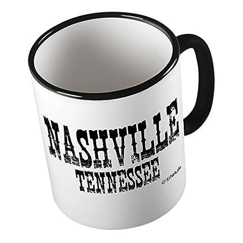 Nashville ★ Tasse amusante – Grande tasse à café – Tasse à thé ★ imprimé de haute qualité et slogan amusant ★ Le cadeau parfait en toute occasion