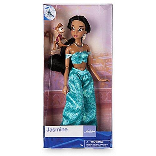 addin 30cm Prinzessin Jasmine Klassische Puppe mit Abu ()