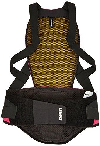 Uvex Mädchen Back Pure JR Skiprotektor, Pink, 128/134
