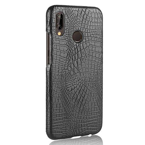 GR Per Huawei P20 Lite / Huawei Nova 3E Custodia rigida di protezione per PC resistente al graffio ( Color : Black )