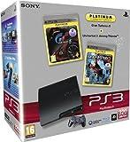 Console PS3 320 Go noire + GT5 - platinum + Uncharted 2 - platinum