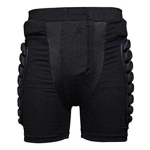 Latinaric Snowboard Protektoren Unterhose Hüftschutzhosen Gepolsterte Kompressions-Kurzschlüsse für Skifahren Snowboard Anfänger