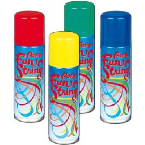 Silly String Spray - x1 colour may vary