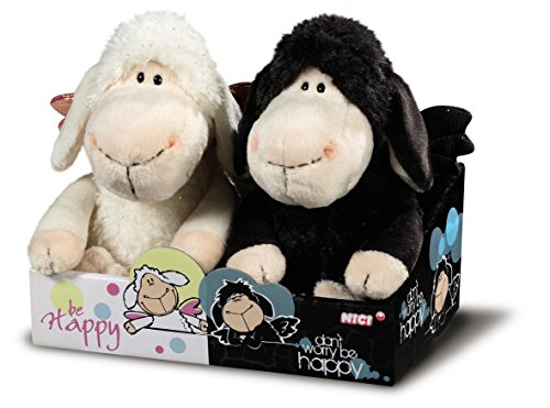 NICI-Oveja-Jolly-Mh-Dont-worry-be-happy-de-20-cm-en-caja-de-regalo-39848