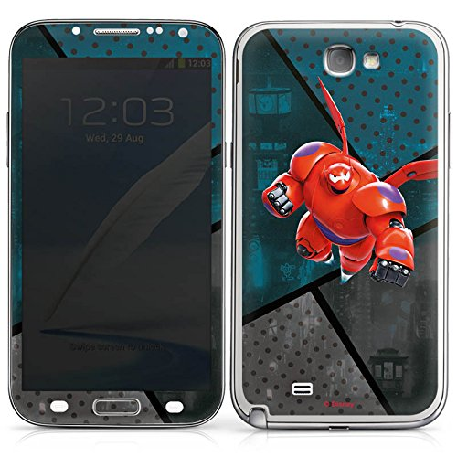 DeinDesign Samsung Galaxy Note 2 Case Skin Sticker aus Vinyl-Folie Aufkleber Disney Baymax Merchandise Fanartikel - 2 Hero Big Six