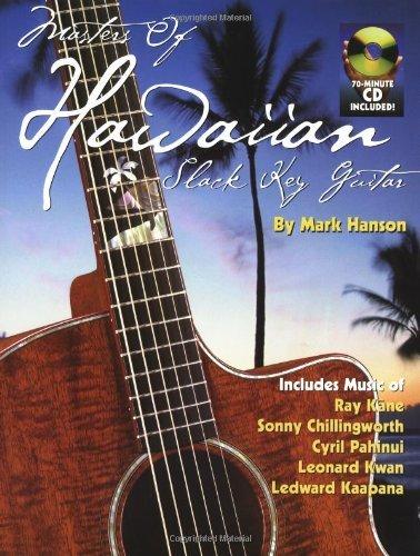 Masters Of Hawaiian Slack Key Guitar Bk/CD by Mark Hanson (2000-08-01)