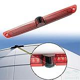 Misayaee voiture Troisième monté sur le toit haut caméra lampe de frein lumière de frein Vue arrière Caméra de recul pour MB W906 Sprinter Transporter / VW Crafter Transporter