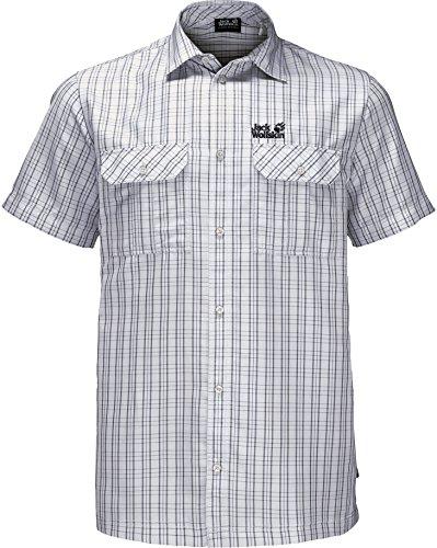 edbae047956b9f Jack Wolfskin Thompson Shirt Men white rush checks Größe XL 2018 Hemd 1 2