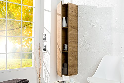 Moderner Design CUBE Eiche natur Wandregal Hängeschrank made in Italy - 3