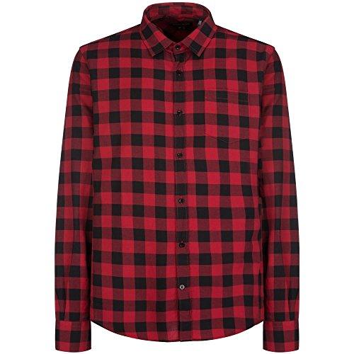 buffalo-woolrich-verifier-la-chemise-de-mens-xl-red-buffalo