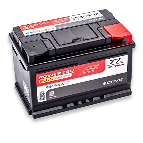 wartungsfrei ECTIVE 75Ah 710A EPC-Serie 12V Autobatterie in 8 Varianten 46Ah 100Ah