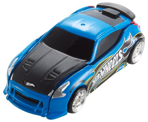 Mattel Hot Wheels t9555 - Stealth Rides Nissan, bleu, voiture 6