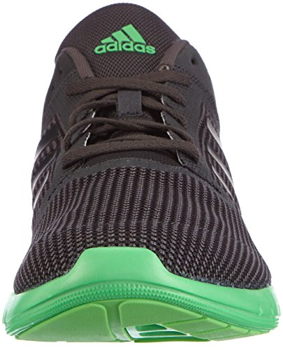 adidas Cc Fresh 2 Herren Laufschuhe Schwarz (Dgh Solid Grey/Core Black/Flash Green S15)