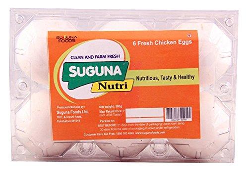 suguna eggs - nutri, 6 pieces pack - 51z 2BBy3XbuL - Suguna Eggs – Nutri, 6 Pieces Pack