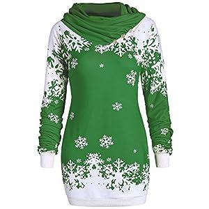 YWLINK Pailletten Shirt Damen Off Schulter Volltonfarbe Elegant O Kragen Langarm AushöHlen Damen Tops Freizeit Party Urlaub Jeden Tag T Shirt Bluse