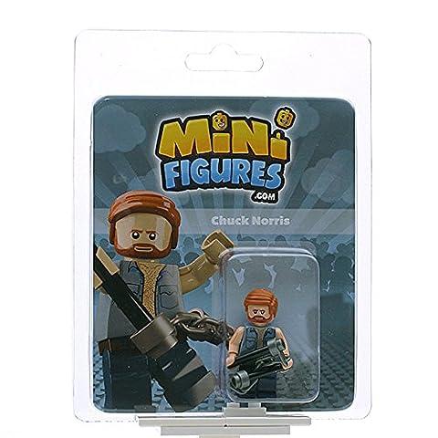 Custom Design Minifigure - Chuck Norris