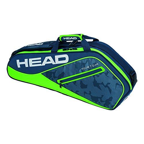 HEAD Tour Team 3R Pro Tennisschläger Tasche, Unisex, Tour Team 3R Pro, Marineblau/grün