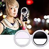 Pawaca Fashion Selfie Ring Light - Three Brightness Levels, 36 LED Uniform Light For IPhone & Phone, Night Self-timer & Outdoor Live Broadcast Essential Light For Most Smart Phones, Ipad