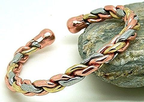 Magnetische Kupfer Armband mit Magneten - Modell Chloé