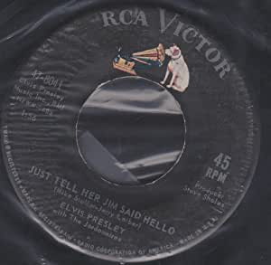 Elvis Presley - She's Not You / Just Tell Her Jim Said Hello - RCA - 47-8041