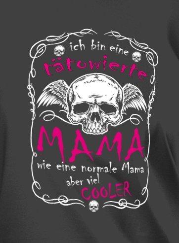 ICH BIN EINE TÄTOWIERTE MAMA... - Styled by Fulima-Stuff Lady Shirt Schwarz
