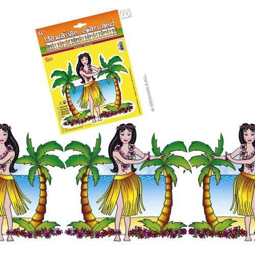 Girlande Hawaiian Garland- 3 Meter lang! ()