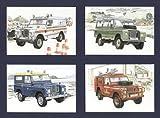 Land Rover Legends Series 3Postkarten