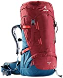 Deuter Rucksack Fox 40, Cranberry-Steel, 66 x 28 x 24 cm, 40 L, 3613118-5316