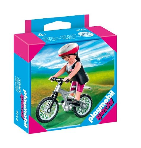 PLAYMOBIL 4743 - Mountainbikerin