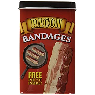 Accoutrements Design Pflaster BACON in Metallbox