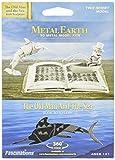 Metal Earth Metall Earth–Modellbausatz–der Alte Mann und Das Meer Buch Skulptur (Fascinations mms117)