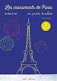 Les monuments de Paris à dessiner en points à relier