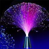 Sandy Cowper - Fontana LED Colorata, in Fibra Ottica, Luce Notturna, calmante, luci Natalizie a LED