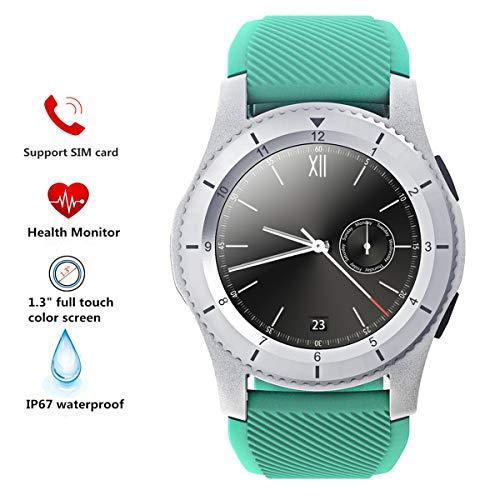 Reloj Inteligente QIMAOO G8 Smart Watch Multifunción Impermeable Bluetooth 4.0 Fitness Tracker, Reloj Deportivo con Podómetro,Presión Sanguínea, Sueño, Calorías,Pulsera Inteligente