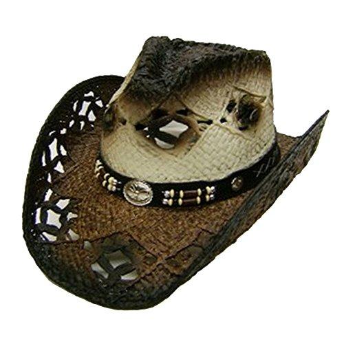 modestone-unisex-straw-chapeaux-cowboy-brown-off-white