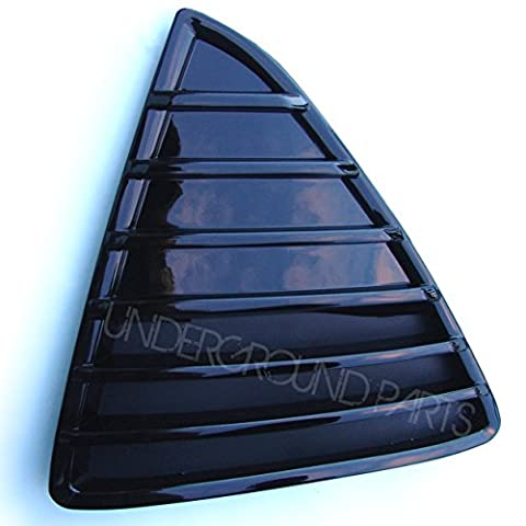 Underground Parts F-FC-23L Front Triangle Grill Left Passenger Nearside (Gloss Black)
