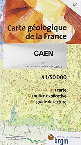 Carte géologique : Caen