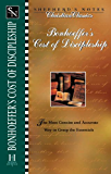 Bonhoeffer's the Cost of Discipleship