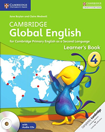 Cambridge Global English Stage 4 Learner's Book with Audio CD (2) -