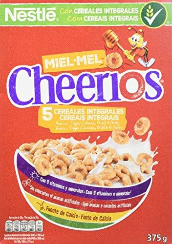 Cheerios Cereales - Paquete de 12 x 375 gr - Total: 4.5 kg