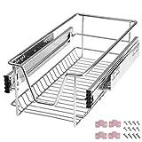 TecTake Teleskopschublade Küchenschublade Schlafzimmerschublade - diverse Größen - (Passend für 30cm | Nr. 402014)