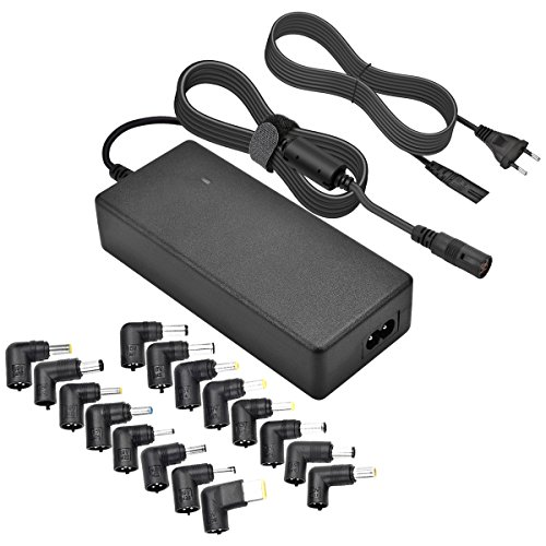 CUGLB Cargador Universal para Portátil Laptop Netbook Ultrabook de 90W Acer, HP/Compaq Sony,ASUS,DEll,Fujitsu,Toshiba PA5035U-1ACARS Lenovo,Samsung,con 16 diferentes marcas y modelos Adaptador 15V 16V 18,5V 19V 19,5V 20V