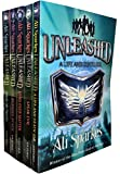 Ali Sparkes Unleashed Series 5 Books Bundle Collection With Gift Journal (A Life & Death Job, Mind Over Matter, Trick Or Truth, Speak Evil, The Burning Beach)